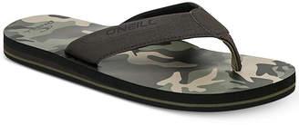 O'Neill Men's El Porto Camo-Print Sandals