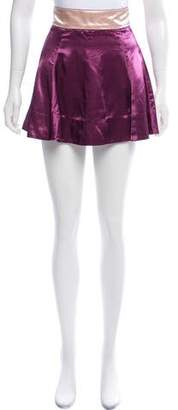 Marc Jacobs Satin Mini Skirt