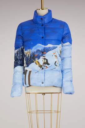 Moncler Brethiel printed down jacket