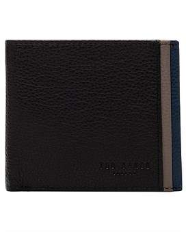 Ted Baker Coloured Leather Bi Fold Wallet