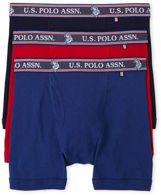 U.S. Polo Assn. 3-Pack Freedom Collection Boxer Briefs