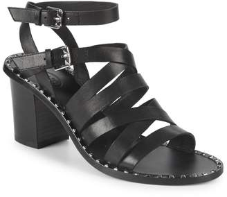 Ash Strappy Leather Sandals