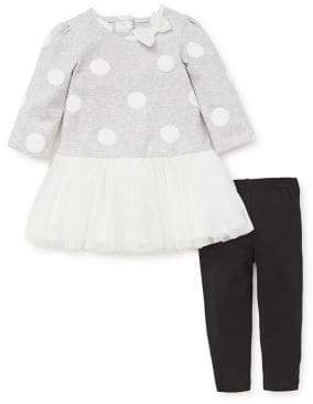 Little Me Baby Girl's 2-Piece Tutu & Leggings Set