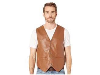 Scully Leather Vest