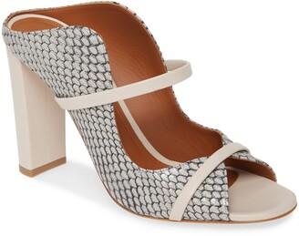 Malone Souliers Norah Block Heel Slide Sandal