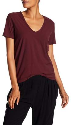 James Perse V-Neck Skinny Tee
