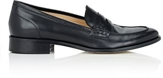 Barneys New York Women's Penny Loafers-BLACK $275 thestylecure.com
