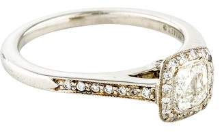 dc1bef8d528d Pre-Owned at TheRealReal · Tiffany   Co. Platinum Diamond Legacy Engagement  Ring