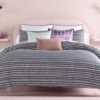 Kate Spade Scallop Row Comforter Set, Full/Queen