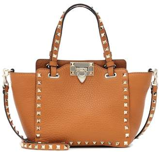 Valentino Rockstud Mini leather tote