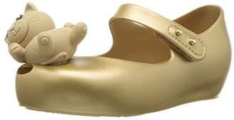 Mini Melissa Girls Ultragirl Mini CAT Ballet Flat
