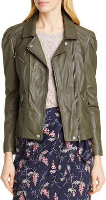 ee65aed49 Rebecca Taylor Women's Leather Jackets - ShopStyle