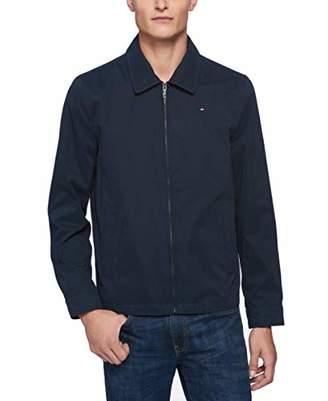 Tommy Hilfiger Men's Lightweight Micro Twill Golf Jacket