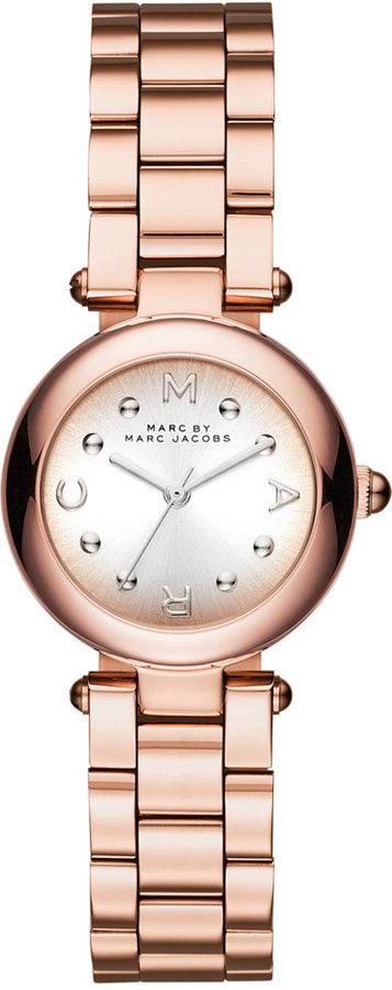 Marc By Marc JacobsMarc Jacobs Women's Dotty Rose Gold-Tone Stainless Steel Bracelet Watch 26mm MJ3452