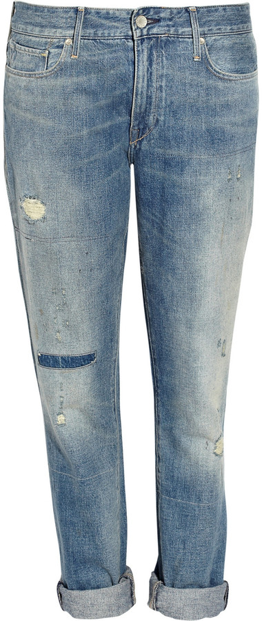 Levi's Made & Crafted Marker mid-rise boyfriend jeans