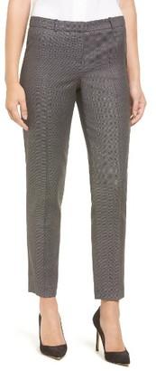 Women's Boss Tiluna Slim Wool Ankle Trousers $255 thestylecure.com