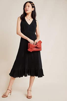 Line & Dot Vera Pleated Maxi Dress