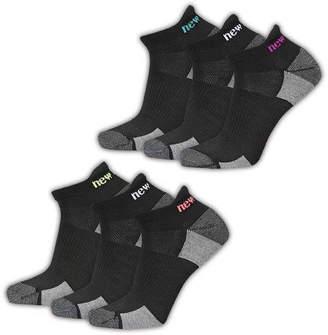 New Balance 6 Pair Low Cut Socks - Womens