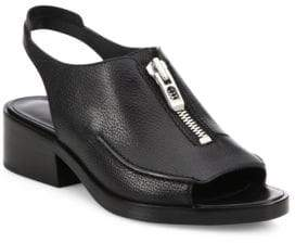 3.1 Phillip Lim Alexa Slingback Zip Sandals