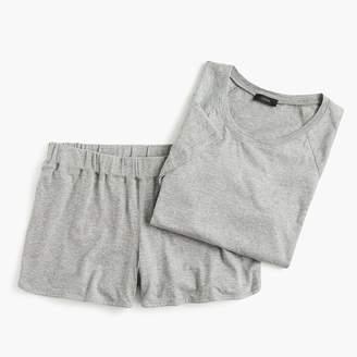 J.Crew Raglan-sleeve short pajama set