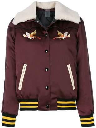 Coach padded bomber jacket