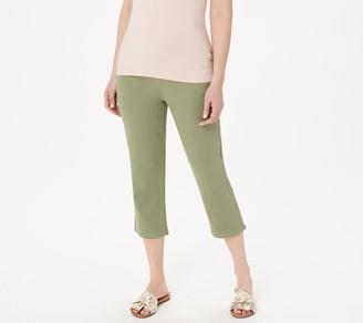 Denim & Co. Color Soft Stretch Smooth Waist Crop Jeans
