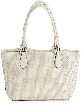Cole Haan Bethany Weave Leather Tote - Women's