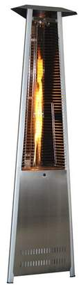 SUNHEAT Contemporary Triangle Design Portable 40,000 BTU Propane Patio Heater