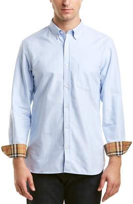 Burberry Check Cuff Woven Shirt