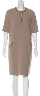 Ralph Lauren Black Label Wool Knee-Length Dress