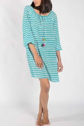 Anupamaa Turquoise Taj Dress