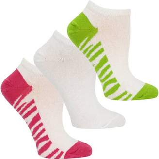 Fruit of the Loom Cotton Stretch Low Cut Socks, 3 Pack