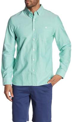 Jack Spade Long Sleeve Oxford Trim Fit Shirt