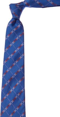 Chanel Blue Silk Tie
