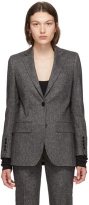 Burberry Black Melange Sidon Jacket