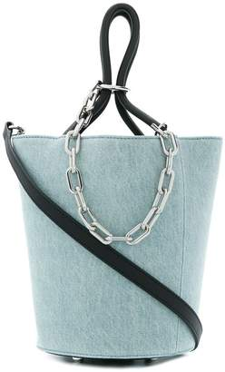 Alexander Wang Roxy Denim bucket bag