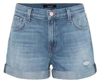 J Brand Johnny denim shorts