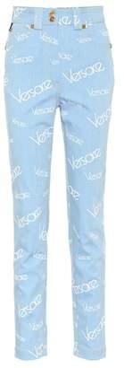 Versace Vintage Logomania skinny jeans