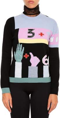 Valentino Counting Pullover