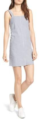 RVCA Tide Lace-Up Back Shift Dress