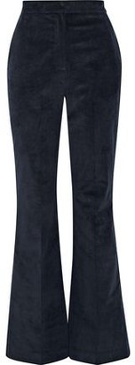 Shelley Iris & Ink Cotton-Blend Corduroy Flared Pants
