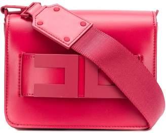 Elisabetta Franchi square shaped clutch bag
