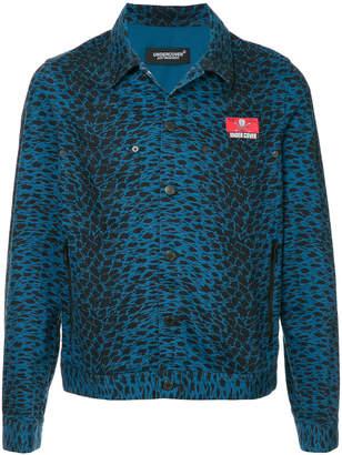 Undercover printed denim jacket