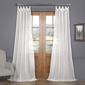 Eff EFF Montpellier Striped Sheer Curtain