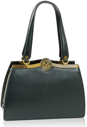 Valentino Orlandi Italian Designer Calfskin Leather Satchel Purse Handbag
