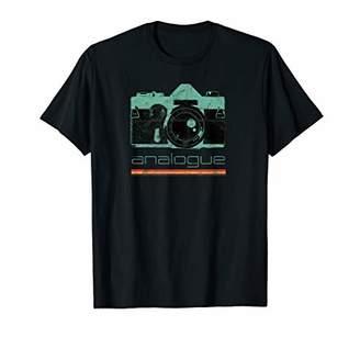 Vintage Photographer Analog SLR Camera Retro Film Lens Photo T-Shirt