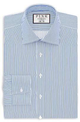 Thomas Pink Grant Stripe Dress Shirt - Bloomingdale's Regular Fit