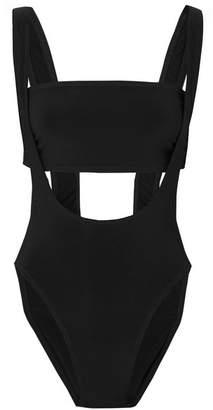 Norma Kamali Suspender Marissa Bikini - Black