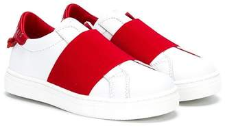 Givenchy Kids elastic-trimmed slip-on sneakers