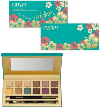 CARGO You Had Me At Aloha Eyeshadow Palette $34 thestylecure.com